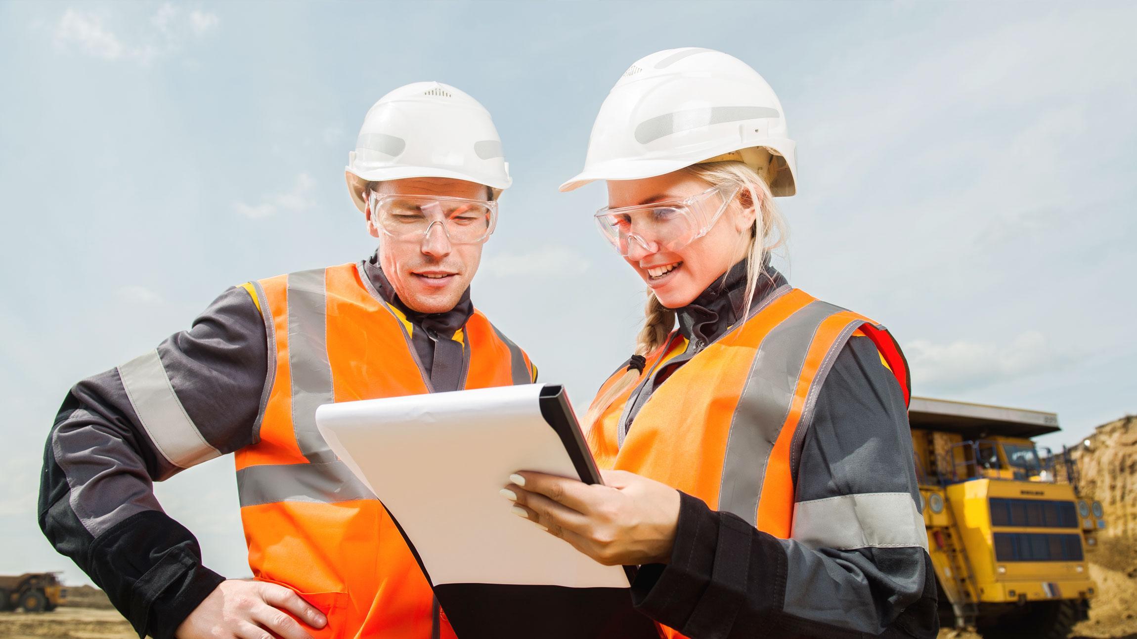 Työnjohtoharjoittelua rakennusalan opiskelijoille