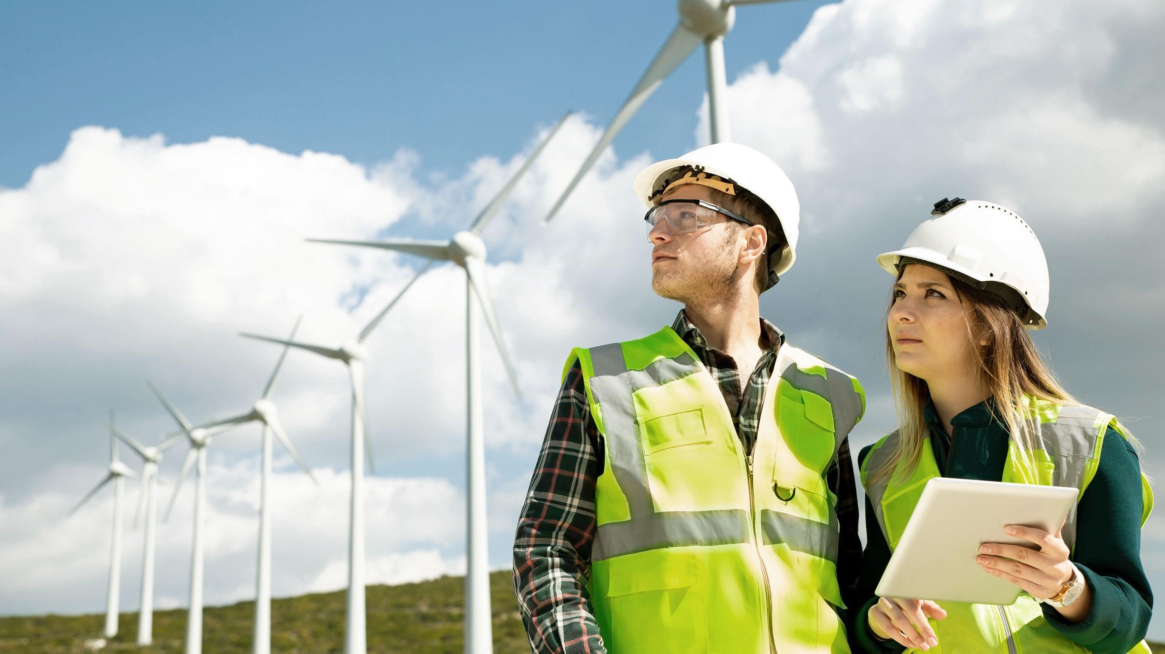 Luotettava sähköasemien, voimajohtojen ja tuulipuistojen kunnossapito